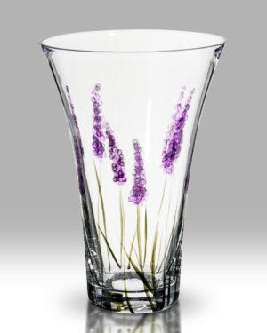 Lavender 19cm Flared Vase