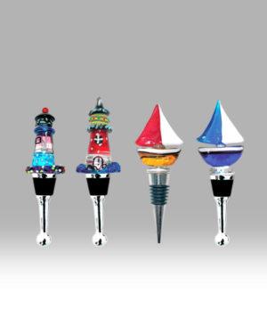 Lighthouse & Boat – Set of 6