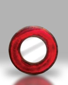 Round Mirror – Gorgeous Red