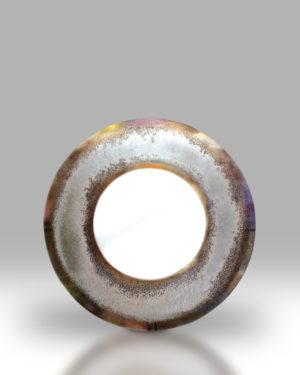Round Mirror – Grey Sandstone
