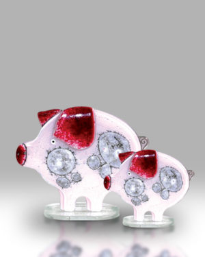 Pig & Piglet – Pink