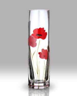 Poppy Fields 19.5cm Bud Vase