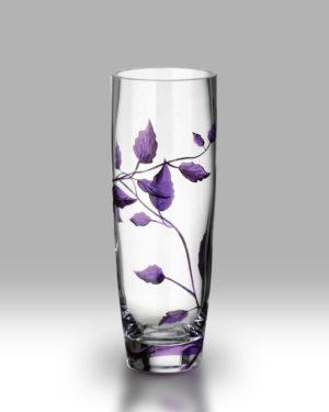 Purple Leaf 25cm Classic Vase