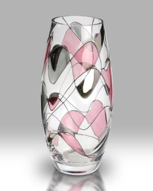 Rose Mosaic 22.5cm Classic Vase