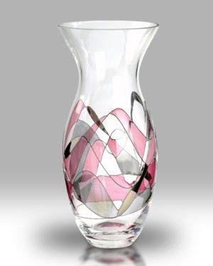 Rose Mosaic 31cm Tulip Vase