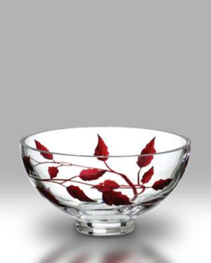 Ruby Leaf 18cm Bowl