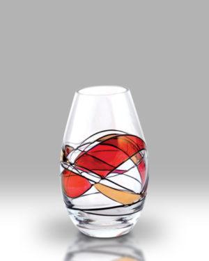 Ruby Mosaic 12cm Louise Bud Vase