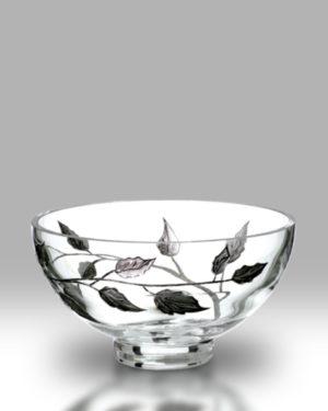 Silver Leaf 18cm Bowl