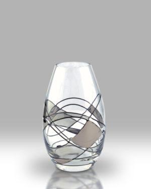Silver Mosaic 12cm Louise Bud Vase