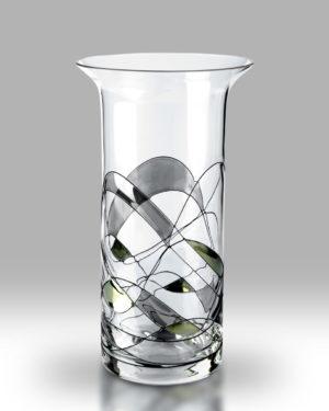 Silver Mosaic 22cm Chorus Vase