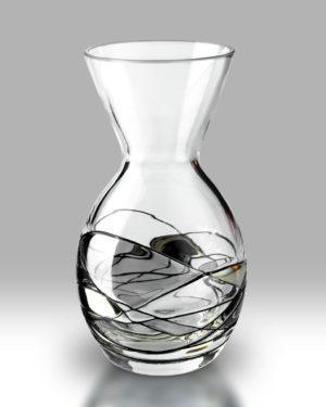 Silver Mosaic 14cm Amphora Vase