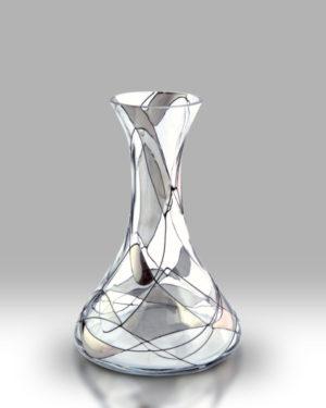 Silver Mosaic 20cm Spring Vase