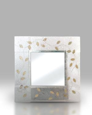 Square Mirrors – Leaf