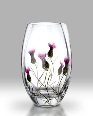 Thistle 20cm Round Vase