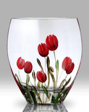 Tulip 21cm Curve Vase