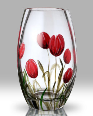 Tulip 20cm Round Vase