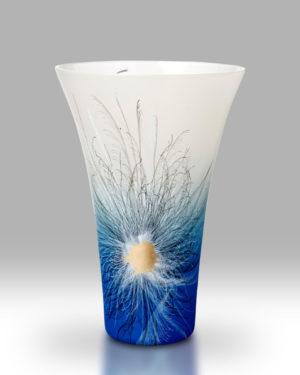 Rhapsody Blue Vase