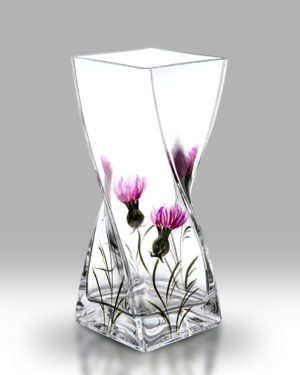 Thistle 20cm Twist Vase