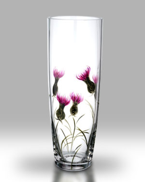 Thistle 25cm Cylinder Vase